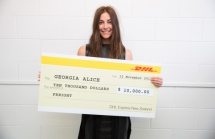 Georgia Alice wins the DHL Export Scholarship 2014