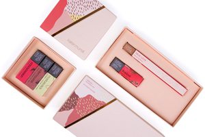 Karen Murrell natural lipstick trio set and a lip pencil set competition