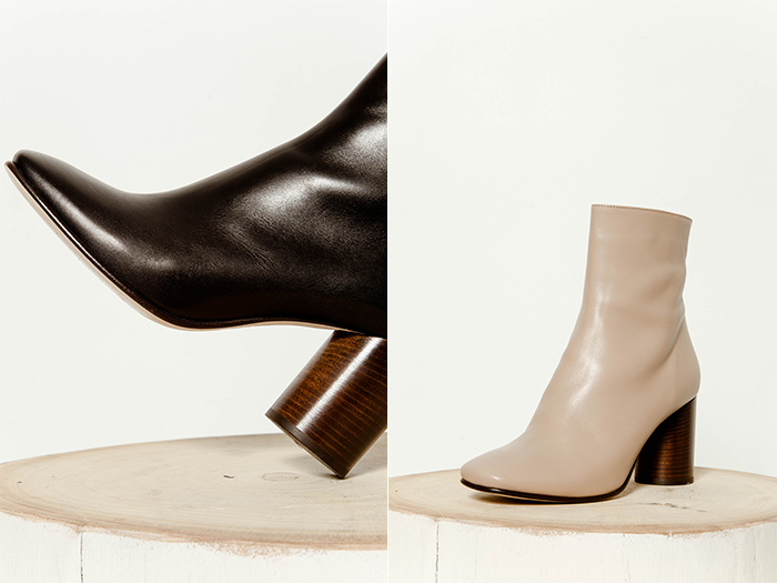 Rebe Burgess Italian boot collection