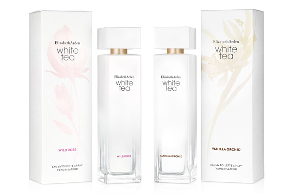 Introducing Elizabeth Arden's new White Tea fragrances
