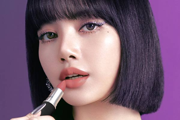 New MAC brand ambassador Lisa from BLACKPINK